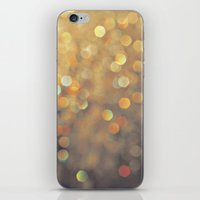 sparkles iPhone & iPod Skins featuring Sparkles by Julia Eriksson