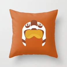 Star Wars Minimalism - Red Five Throw Pillow