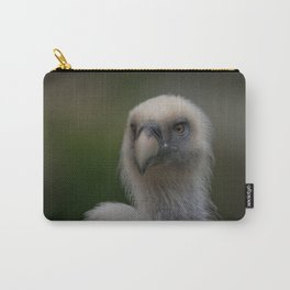 Face Of A Griffon Vulture Carry-All Pouch