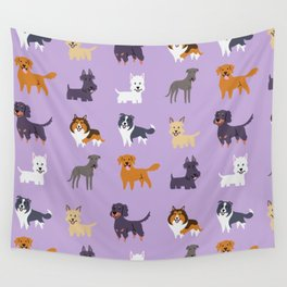 SCOTTISH DOGS Wall Tapestry