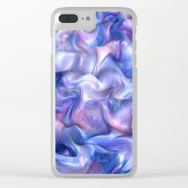 Smooth Paint Clear iPhone Case