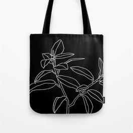Greenery Print A Tote Bag