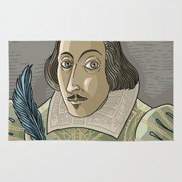 great shakespeare english writer Rug