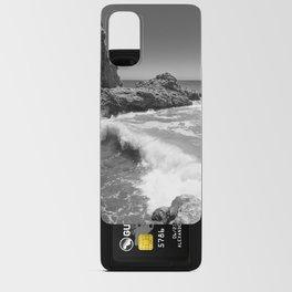 Waves crash along Rancho Palos Verdes coastline Android Card Case