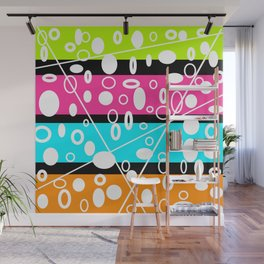 Get your GLO on! Wall Mural