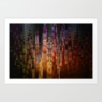 metropolis Art Prints featuring Metropolis by Angelo Cerantola