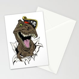 T-Rex - Imma Pirate Stationery Cards