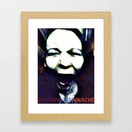 BrainAche! Framed Art Print