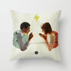 Bland | Collage Throw Pillow
