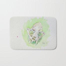 Caracal Skull Bath Mat