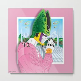 Perfect Killa Pink Metal Print