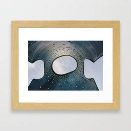 Jigsaw Sky Framed Art Print