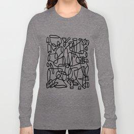 Sloppy Rockets - Permanent Marker Long Sleeve T-shirt