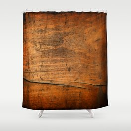 Wood Texture 340 Shower Curtain