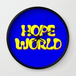 HOPEWORLD Wall Clock