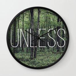 Unless Wall Clock