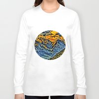 geology Long Sleeve T-shirts featuring mountain by Alexandr-Az