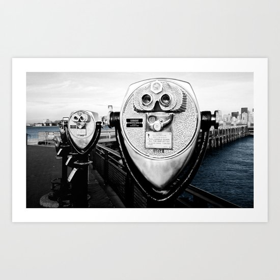 Onlooker. Art Print