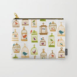 Bird Cages Carry-All Pouch