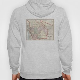 Vintage Map of Bolivia (1901) Hoody