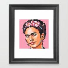Frida Kahlo - Feminist Icon Framed Art Print