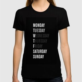 Black WFT Week T-shirt