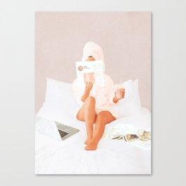 Weekend Morning II Canvas Print