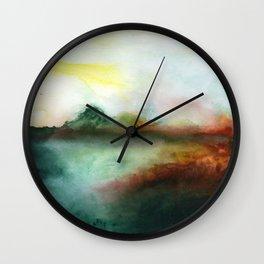 Mourning Morning Wall Clock