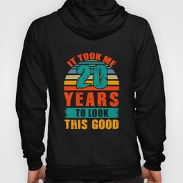 20th Birthday Gifts for Boys Girls 20 Years Old Gift Hoody