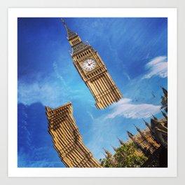 Big Ben, London (1) Art Print
