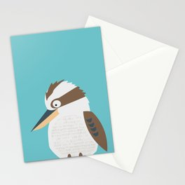Kooky Kookaburra Stationery Cards