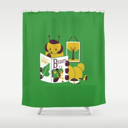 Beauty Mag Shower Curtain