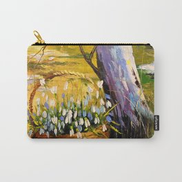 Basket of snowdrops Carry-All Pouch