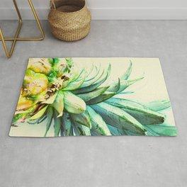 Green Pineapple Rug
