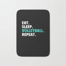 Eat Sleep Volleyball Gift Player Coach Mom Bath Mat