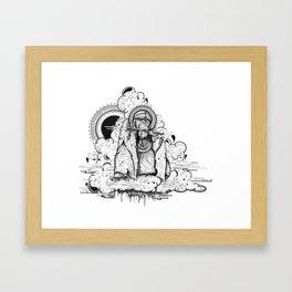 King Louie Framed Art Print