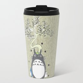 Will you be my neighbor Totoro? Version 2 Travel Mug