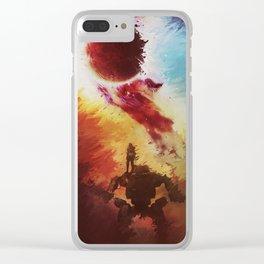 T I T A N F A L L Clear iPhone Case