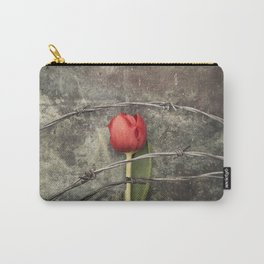 Tulip and barbed wire Carry-All Pouch