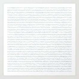 Your handwriting Art Print