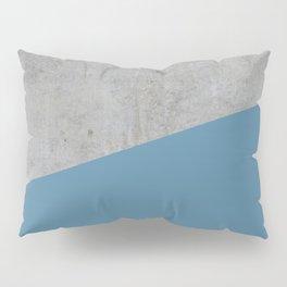 Concrete and Niagara Color Pillow Sham
