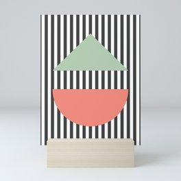Stripes Geometric Mini Art Print