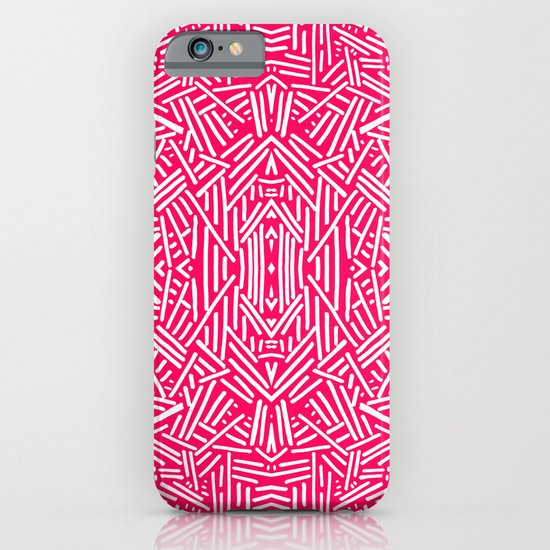 Radiate (Coral) iPhone & iPod Case