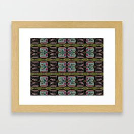 MERMAID SPACE BOWL Framed Art Print