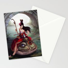 The Frog Prince Stationery Cards