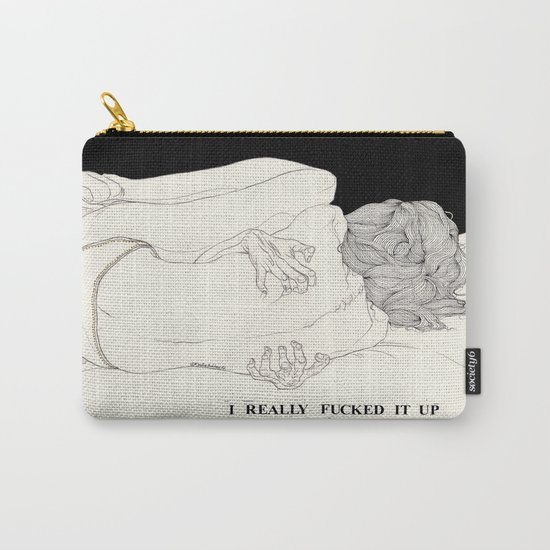 Perfect Contrition (Can't See The Moon) Carry-All Pouch