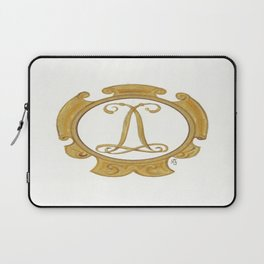 Double Cypher of King Louis XIV Laptop Sleeve