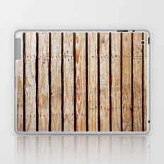 Old plank wood texture Laptop & iPad Skin