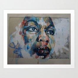 I Put A Spell On You  - Nina Simone Art Print