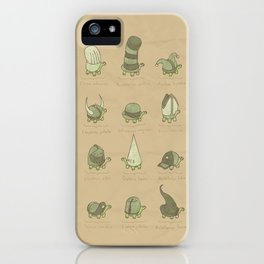 A Study of Turtles iPhone Case